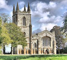 Canons Ashby Priory 1250AD by cullodenmist