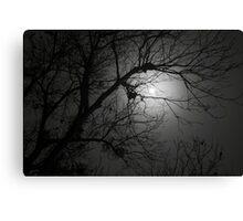 Spooky Moon Canvas Print