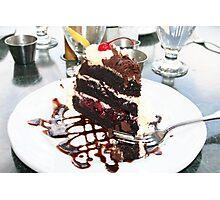 """Cake"" Photographic Print"