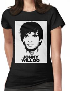 JONNY WILL DO Womens Fitted T-Shirt