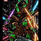 Jedi Turtles by shannonritchie