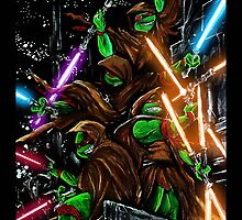 Jedi Turtles by shannonritchie