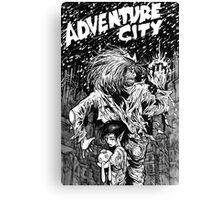 Adventure City Canvas Print