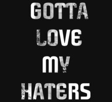 Gotta Love my Haters by Ashley Deal