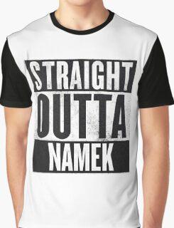 Straight Outta Namek - Dragon Ball Z Piccolo Graphic T-Shirt