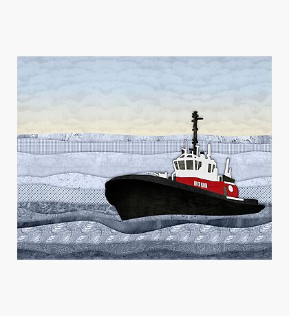 Tugboat Photographic Print