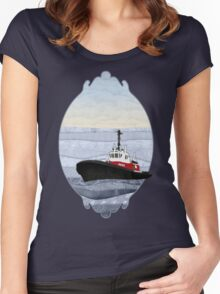 Tugboat Women's Fitted Scoop T-Shirt