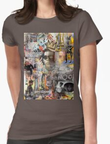 jean michel  Womens Fitted T-Shirt