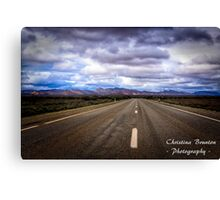 Road to Flinders Canvas Print