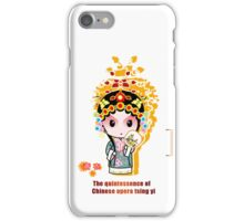 The quintessence of Chinese opera iPhone Case/Skin