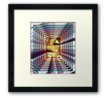 On and On... Framed Print