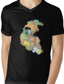 Pangaea Mens V-Neck T-Shirt