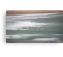 Saltwater. Canvas Print