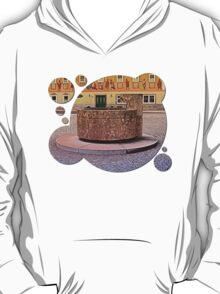 The village fountain of Kronstorf | architectural photography T-Shirt