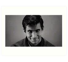 Norman Bates, Psycho Art Print