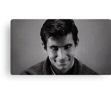 Norman Bates, Psycho Canvas Print