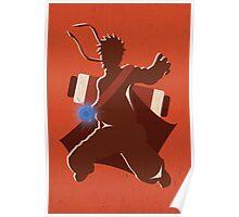 """Naruto Uzamaki Digital Art Print - """"Sage Mode"""" (Naruto Shippuden) Poster"""