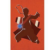 """Naruto Uzamaki Digital Art Print - """"Sage Mode"""" (Naruto Shippuden) Photographic Print"""