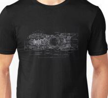 Bat Mobile Print Unisex T-Shirt
