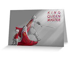 Jaime, Cersei & Tyrion Greeting Card