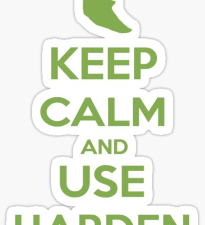 Keep Calm and Use Harden(Metapod) Sticker