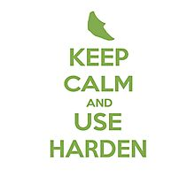Keep Calm and Use Harden(Metapod) Photographic Print