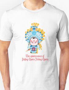 The quintessence of Beijing Opera Peking Opera  Unisex T-Shirt
