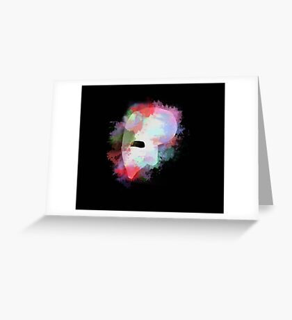The phantom of the opera Greeting Card