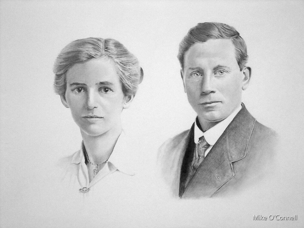 Alice & Joseph Gatley by Mike O'Connell