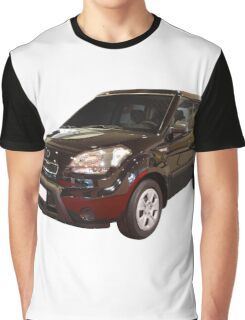new black 4x4 suv isolated Graphic T-Shirt
