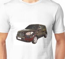 new black 4x4 suv isolated Unisex T-Shirt
