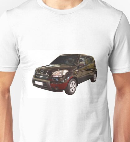 new black 4x4 suv isolated Unisex T-Shirt