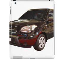 new black 4x4 suv isolated iPad Case/Skin