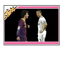 Messi & Ronaldo by JoelCortez