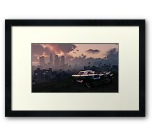 Entity XF Looking Over LS Framed Print