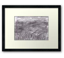 Through The Valley Framed Print