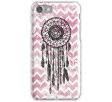 Pink Chevron Dreamcatcher iPhone Case/Skin