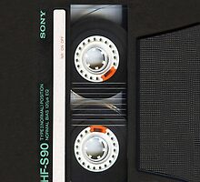 Classic Retro Cassette Tape by neutrone
