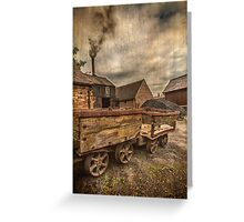 Mining Village Coalport Greeting Card