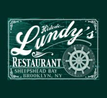 Lundy's Restaurant by LicensedThreads