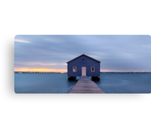 Crawley Boatshed at dawn Canvas Print
