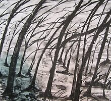 The Woodland Prevailing Wind.  by ejameson