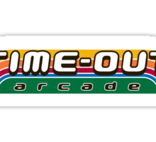 Time-Out Arcade Sticker