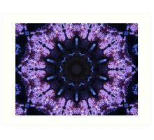 Corala Blue Art Print