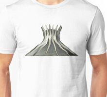 cathedral - landmark of Brasilia city Unisex T-Shirt