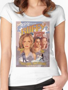 Buffy: Once More, With Feeling Women's Fitted Scoop T-Shirt