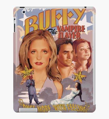 Buffy: Once More, With Feeling iPad Case/Skin