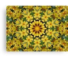Sun Flower Delight Canvas Print
