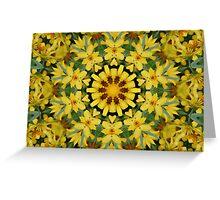 Sun Flower Delight Greeting Card