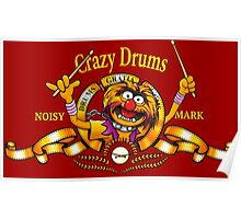 Crazy Drums Poster
